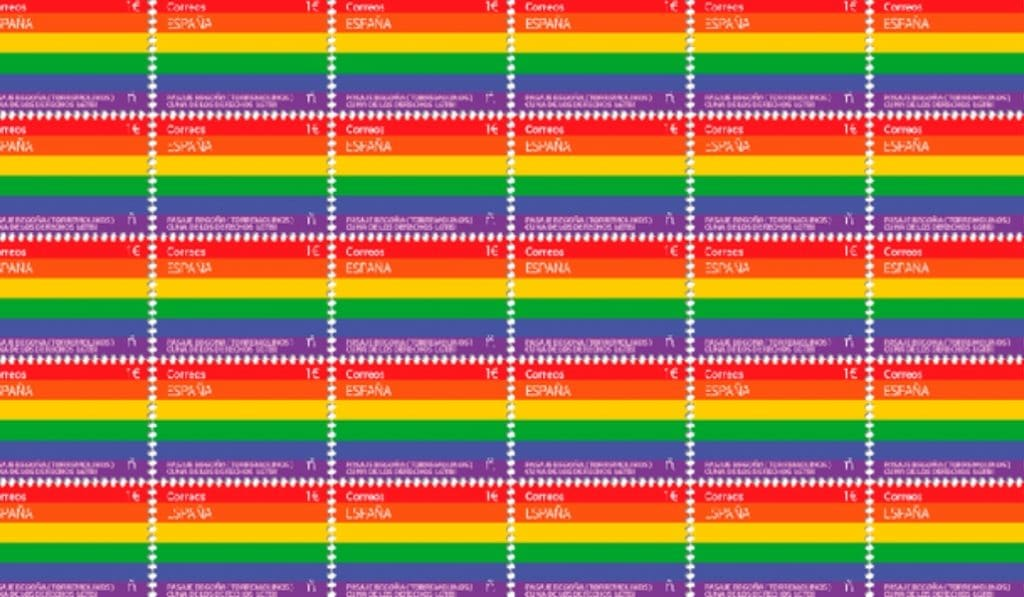 Correos saca el primer sello LGTBI de la historia