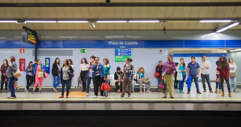 Metro informa de la ocupación de las estaciones en tiempo real a través de su app