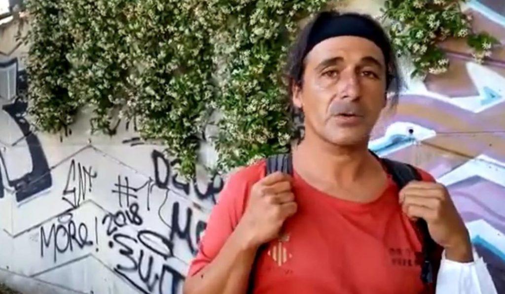 Joaquín Carmona, el famoso tuitero de atletismo, es un sintecho