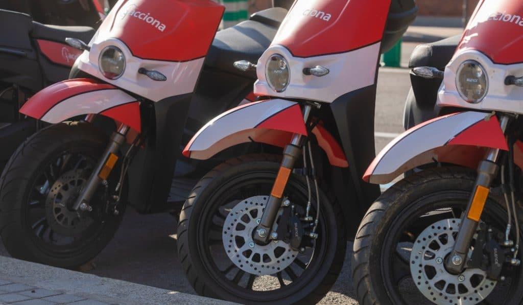 Motos eléctricas gratis en Madrid: solo hoy