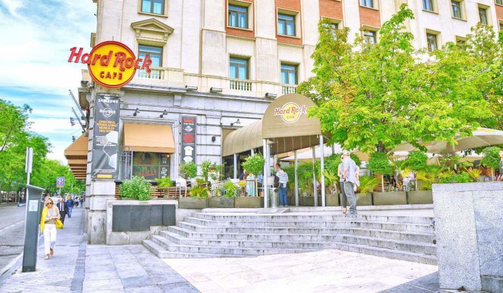 Hard Rock Café cierra su mítico local de Madrid