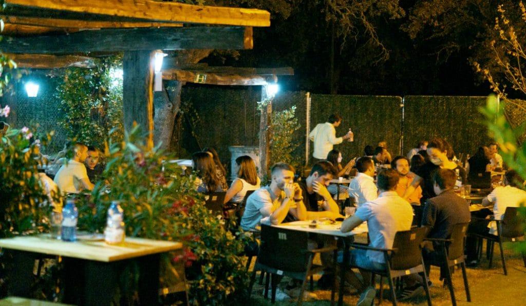 La Mirona, el mejor terraceo en un entorno natural