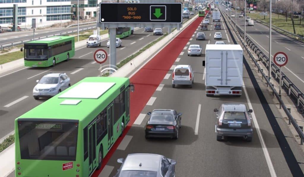La autovía A-2 tendrá un carril Bus-VAO
