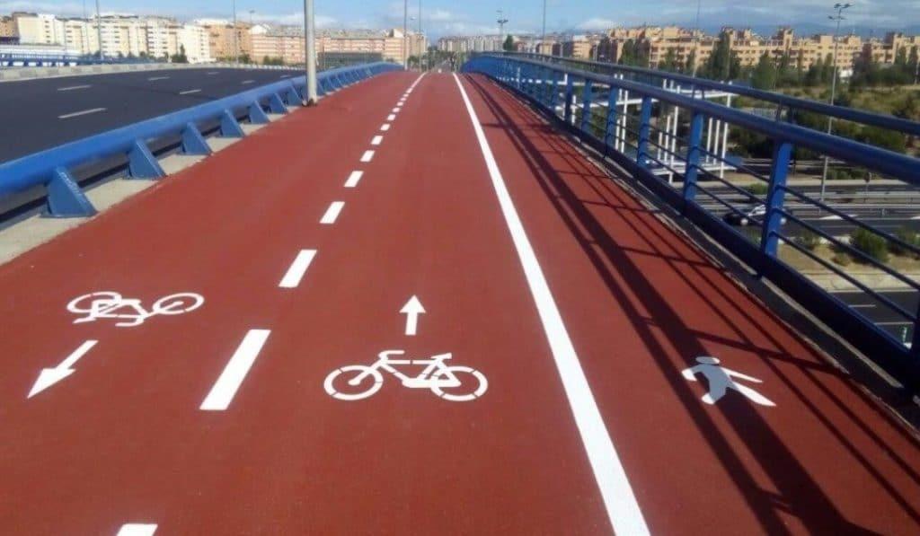 Madrid renueva el pavimento del Anillo Verde Ciclista