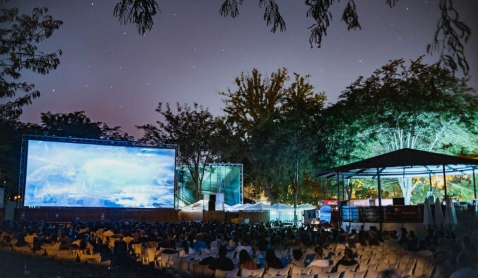 Vuelve el cine de verano del parque de la Bombilla