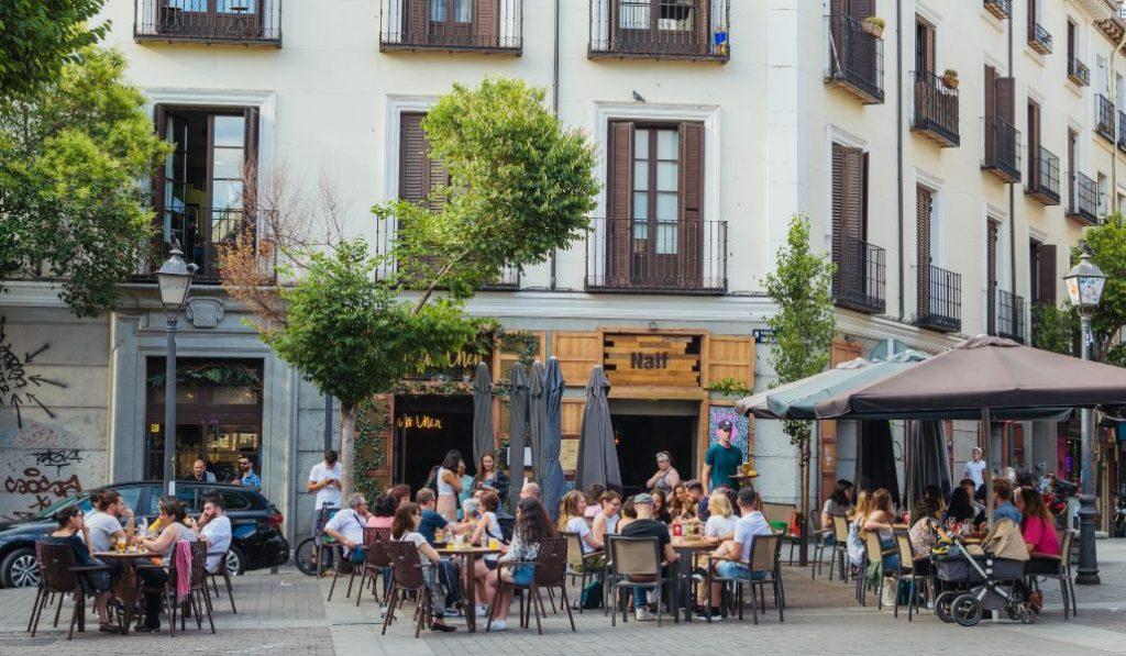 Las terrazas de Madrid funcionan al 100% de su aforo desde hoy