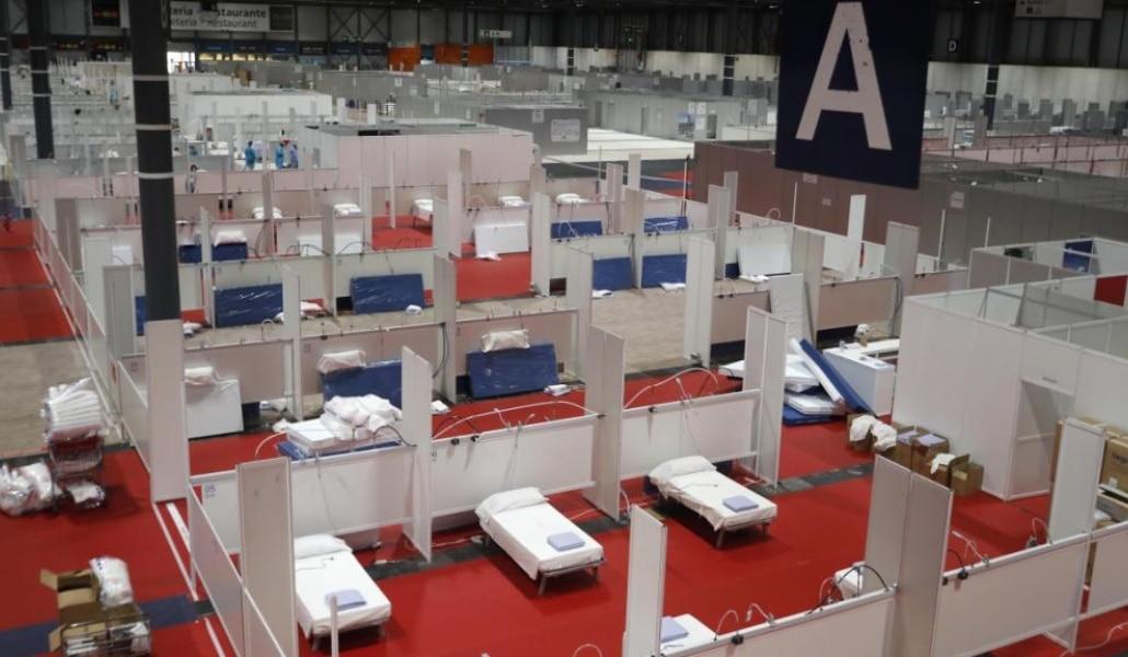 El hospital del IFEMA reabre: habilitados dos pabellones por los ...