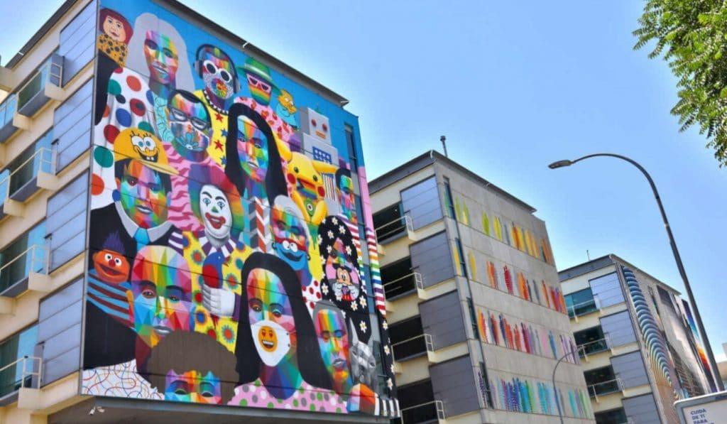 Todas las obras de Okuda en Madrid