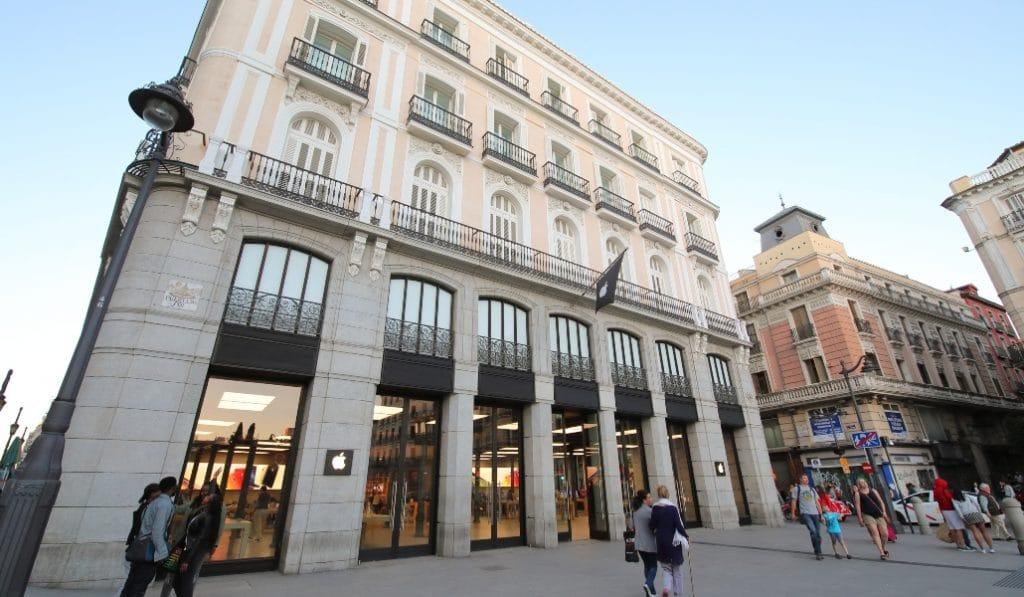 Apple cierra todas sus tiendas de Madrid
