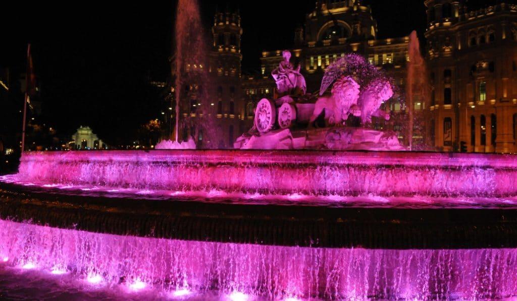 La Cibeles se iluminará de rosa el 28 de agosto por el Síndrome de Turner