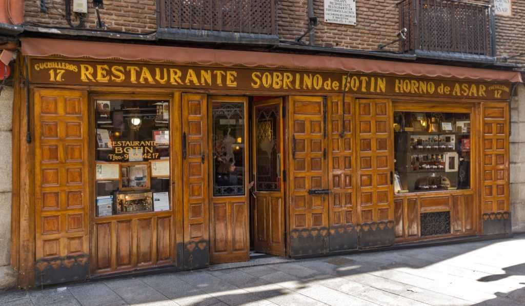 Casa Botín, el restaurante más antiguo del mundo, reabre después de la pandemia