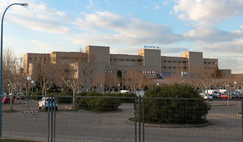 El hospital de Getafe ha suspendido las visitas de familiares