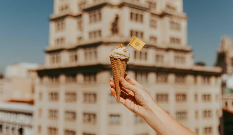 El helado de Grana Padano ya ha llegado a Madrid