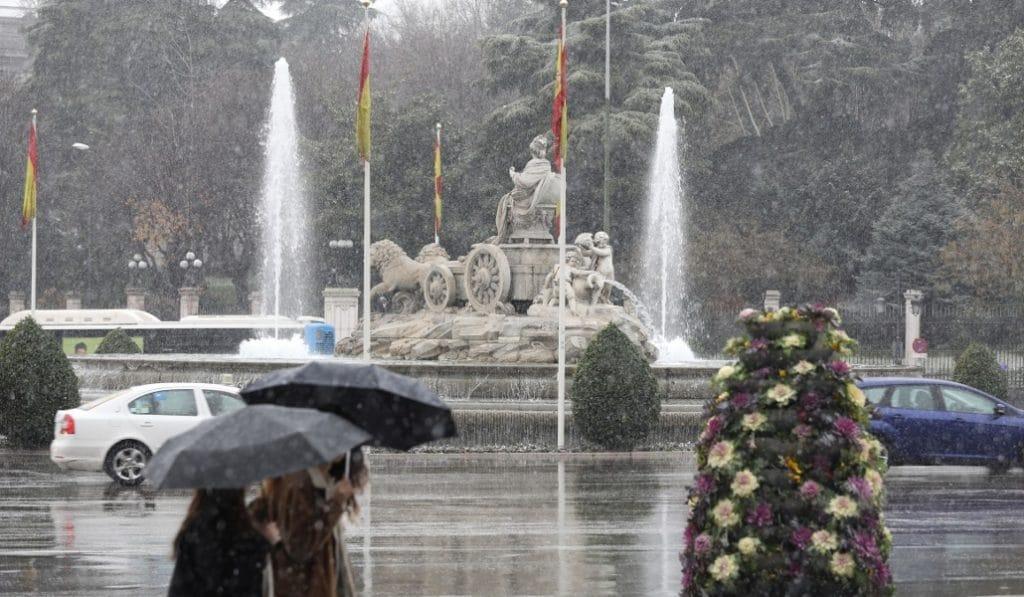 Tormenta, granizo y fuertes vientos: la tarde que nos espera en Madrid