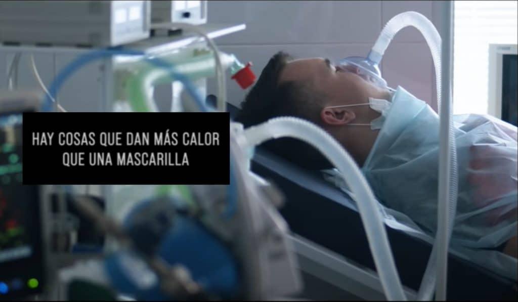 El vídeo espeluznante que pide a los jóvenes de Madrid ponerse la mascarilla
