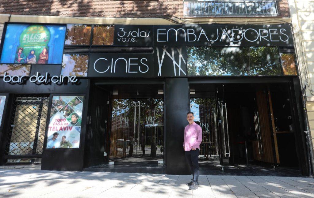 Cines Embajadores: así es el primer cine de barrio madrileño que abre en décadas