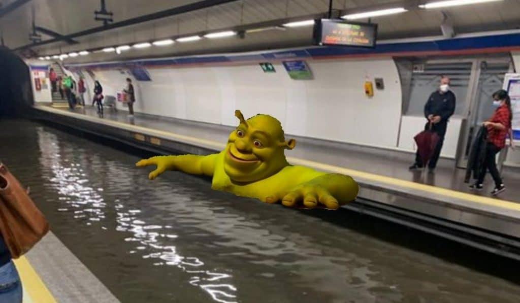Los mejores memes sobre la inundación del Metro de Madrid