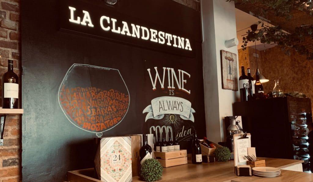 Taberna Clandestina: una nueva joya para la zona de Ponzano