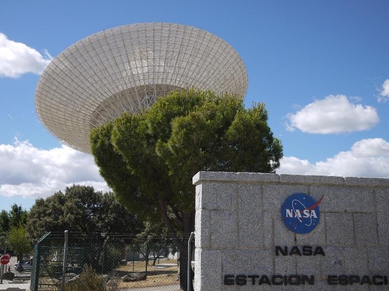 ¿Sabías que la NASA tiene una estación espacial en Madrid?