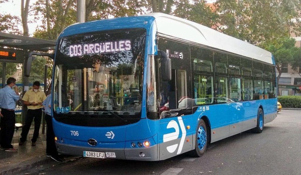 Madrid tiene una nueva línea de autobús que bordea el Centro