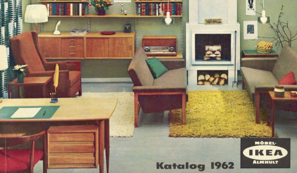 Así era comprar en IKEA en 1950