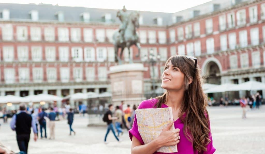 Madrid pierde casi un 90% de los turistas internacionales