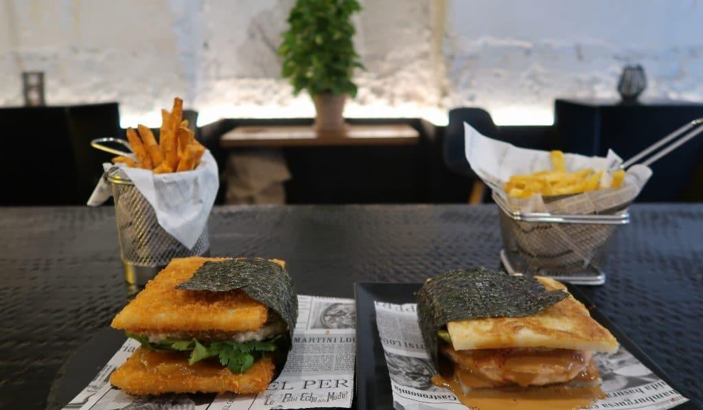 Llegan a Madrid las hamburguesas de sushi