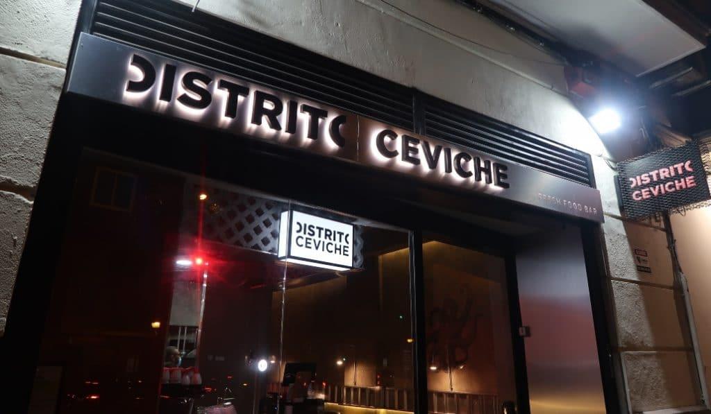 Distrito Ceviche, una clara y exitosa apuesta por la comida fusión