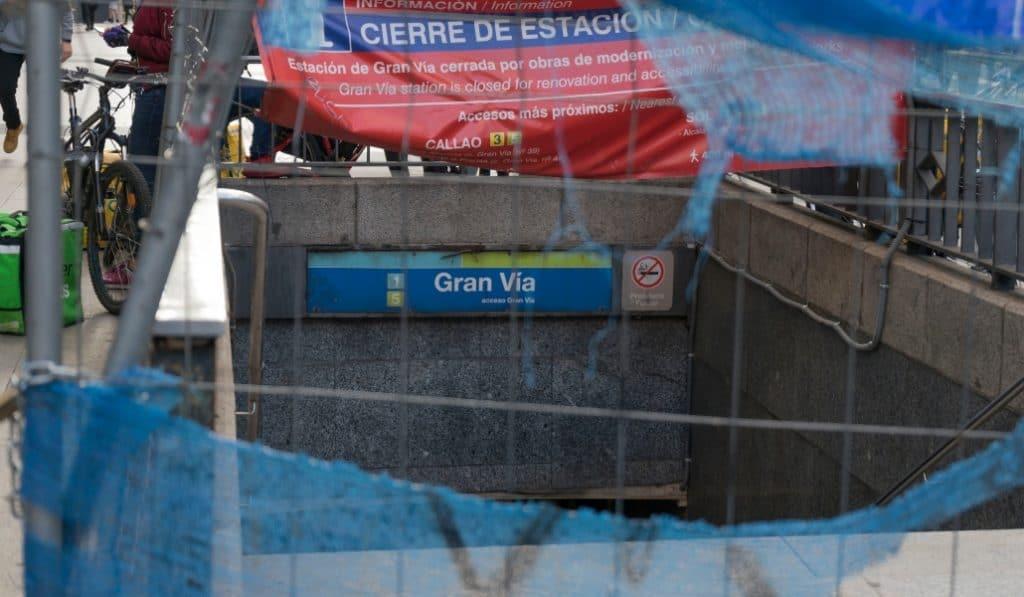 Una cuenta de Twitter cuenta (día a día) los días que lleva cerrada la Gran Vía
