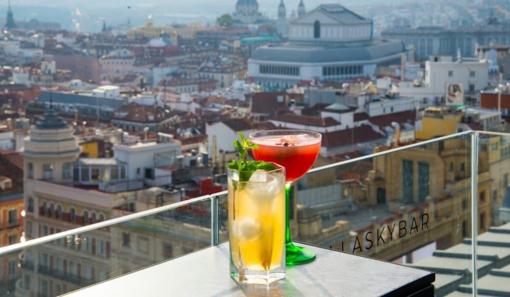 Ella Sky Bar: una panorámica de Madrid escondida a plena vista
