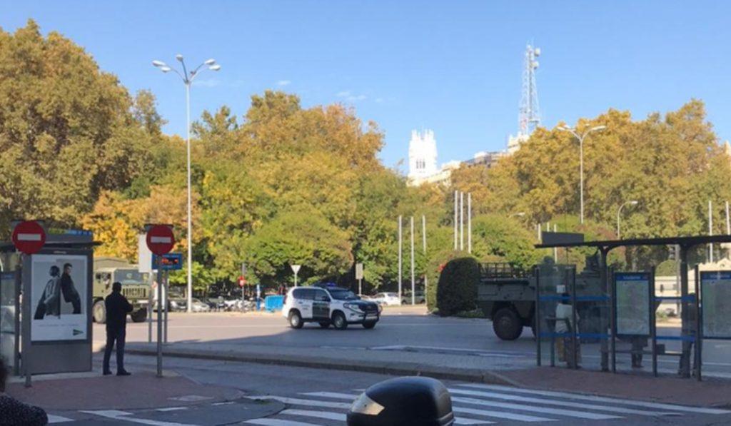 ¿Por qué ayer había tanques en las calles céntricas de Madrid?