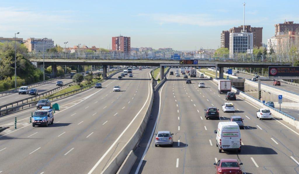 La Comunidad de Madrid, cerrada perimetralmente este puente