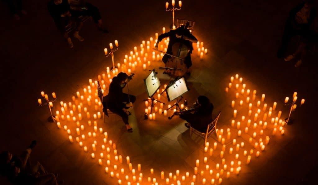 Las mejores bandas sonoras del cine a la luz de las velas