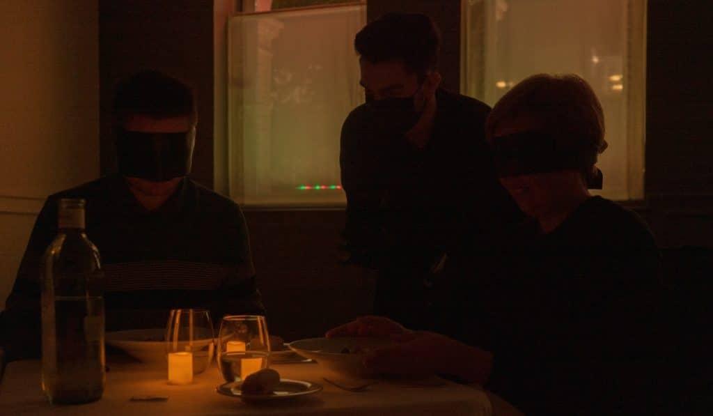 'Dining in the Dark': así fue mi primera cena a oscuras en Madrid