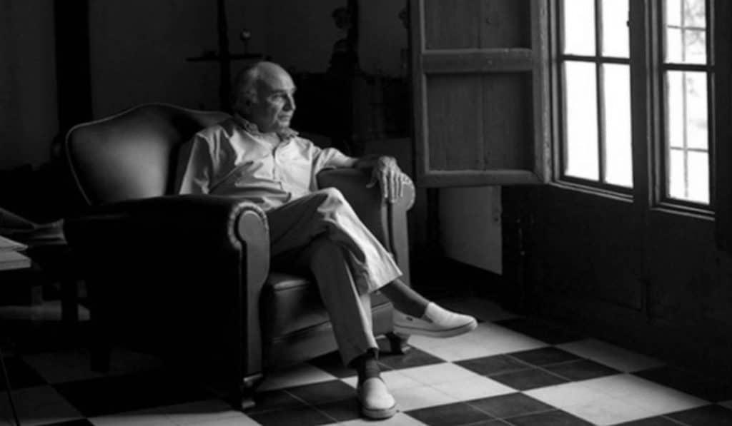 El poeta Francisco Brines, ganador del Premio Cervantes 2020
