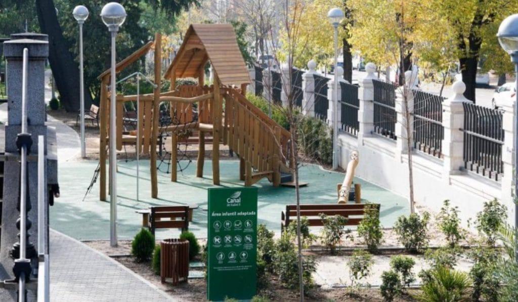 Chamberí tiene un nuevo parque de casi 4.000 metros cuadrados