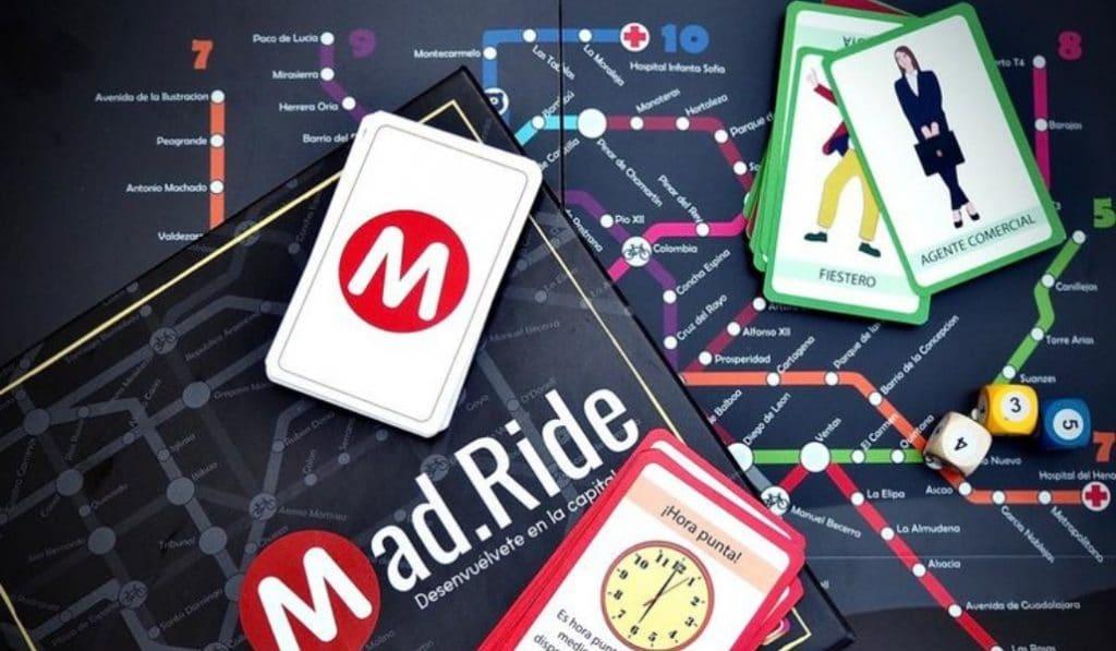 Mad.Ride: el nuevo y divertidísimo juego de mesa ambientado en Madrid