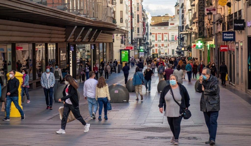 La OMS dice que Madrid es la región de la España peninsular con menos riesgo