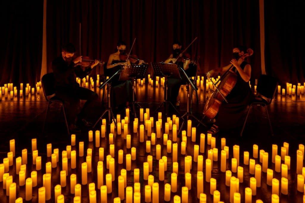 'El Cascanueces': un espectáculo de ballet a la luz de las velas