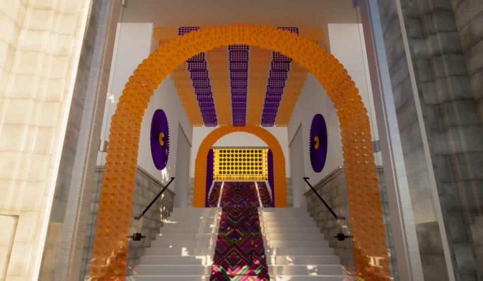 Vuelve el impresionante altar del Día de los Muertos en la Casa de México