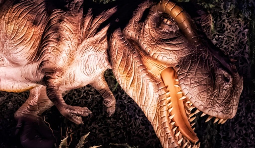 Saurios: una exposición (al aire libre) con un centenar de dinosaurios