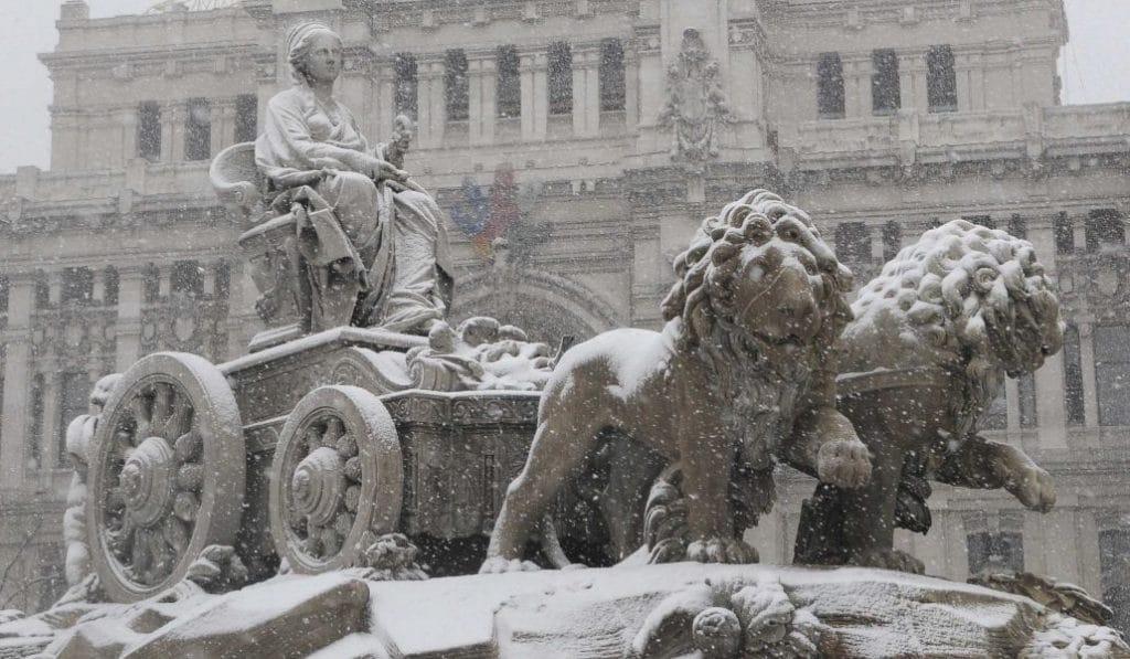 Durante la semana de Reyes podría caer en Madrid la mayor nevada del siglo
