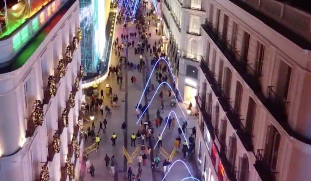 ¿Estaba tan lleno el centro de Madrid este fin de semana?