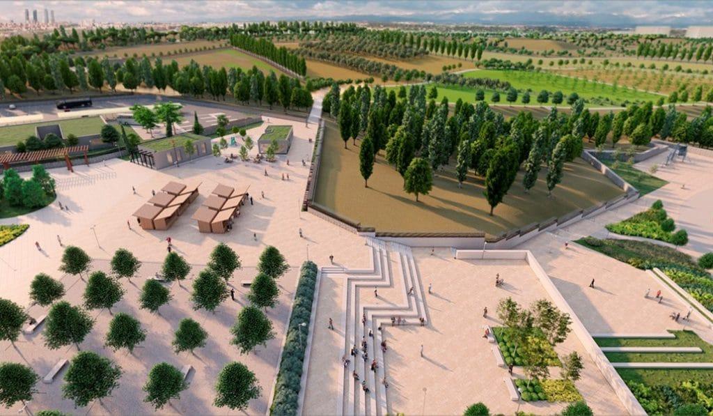 Empiezan las obras de un nuevo parque de 900.000 metros cuadrados