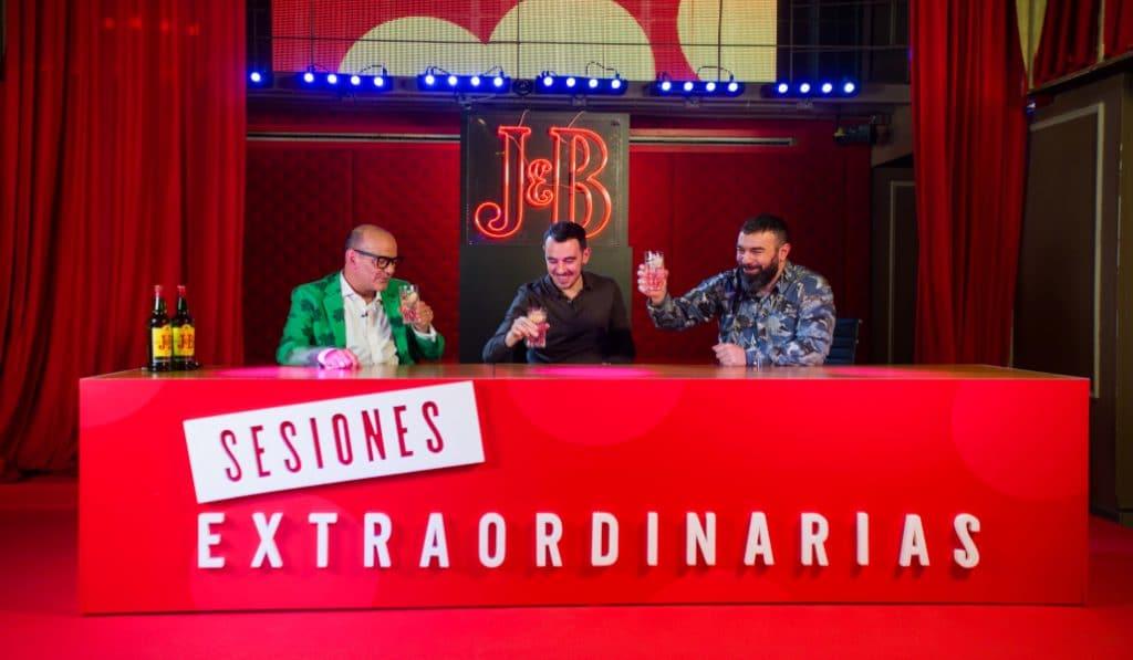 Sesiones Extraordinarias by J&B: así han sido las exclusivas experiencias con Pantomima Full