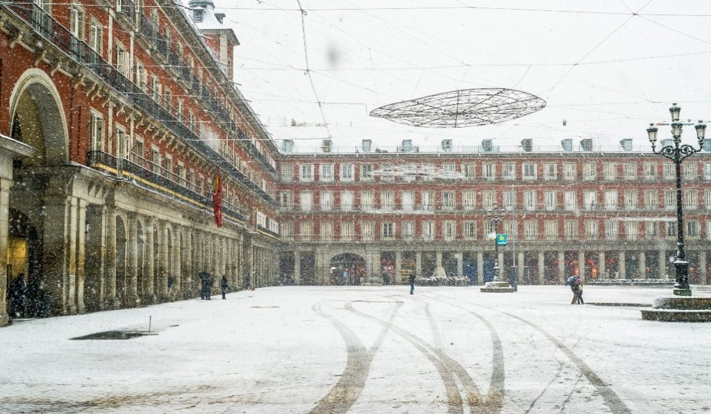 ¿Nevará en Madrid durante esta semana?