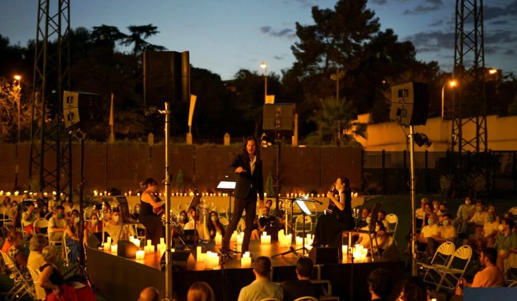 Candlelight Open Air: la música de Ennio Morricone a la luz de las velas