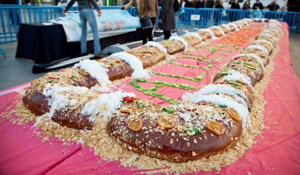 Este año también habrá roscón de Reyes gratis y gigante