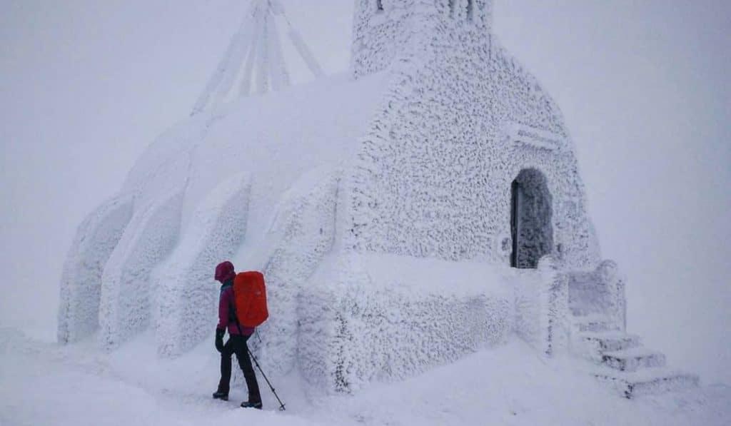 Las fotos más bonitas de la nieve en la sierra de Guadarrama