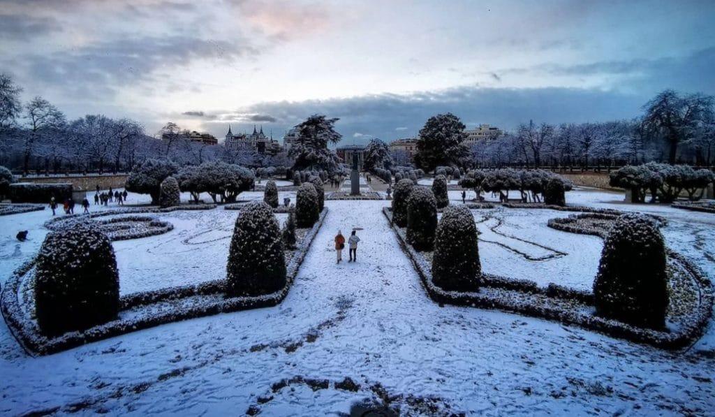 Madrid se llena de nieve y estas son algunas de las mejores fotos